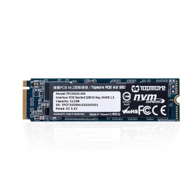 PCIE M.2 SSD (TPCIE500) 1