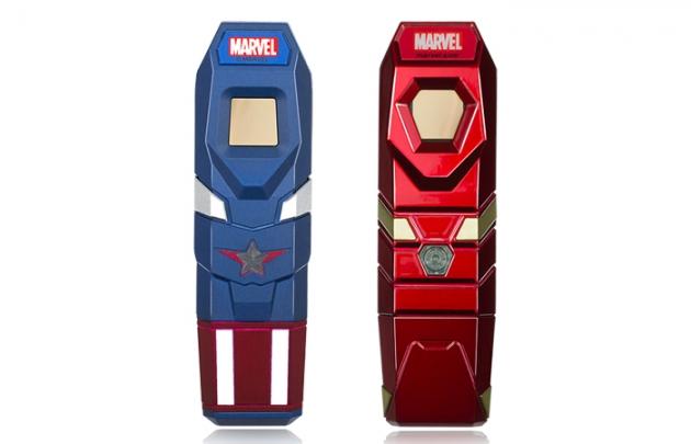 Marvel fingerprint USB drive 3