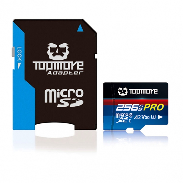 MicroSDXC UHS-I U3 A2 V30 Class 10 PRO Memory Card 2