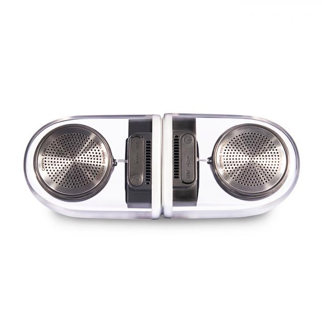 Crystal Cube Bluetooth Speaker 1