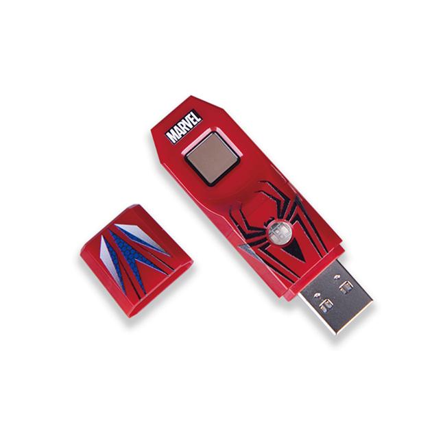 漫威系列第2代指紋辨識碟USB3.0-蜘蛛人款 2