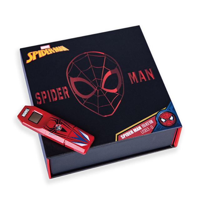 漫威系列第2代指紋辨識碟USB3.0-蜘蛛人款 4
