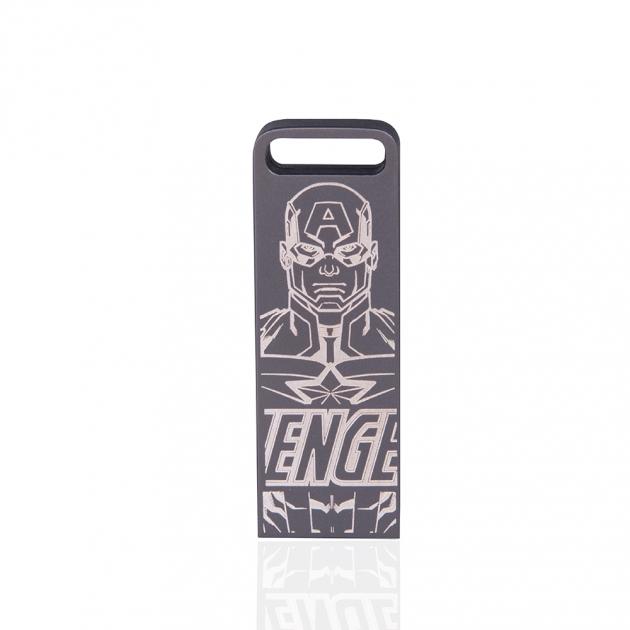 ZXM Marvel Three in one Edition Flash Drive –laser marking 3