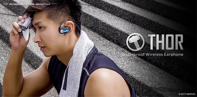 Marvel waterproof earphone 3