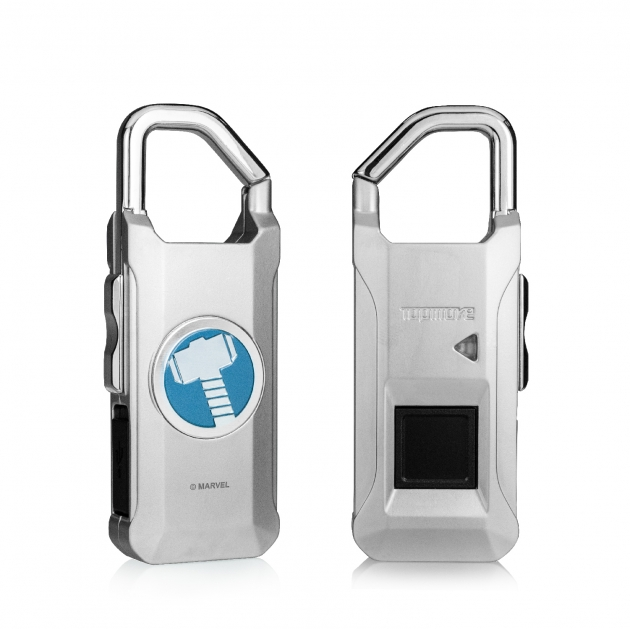 Marvel fingerprint padlock 2