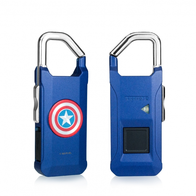 Marvel fingerprint padlock 4