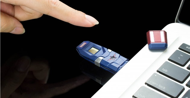 Marvel fingerprint USB drive 2