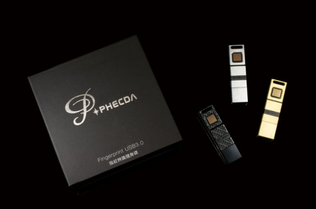 Phecda II 指紋辨識碟 USB3.0 2