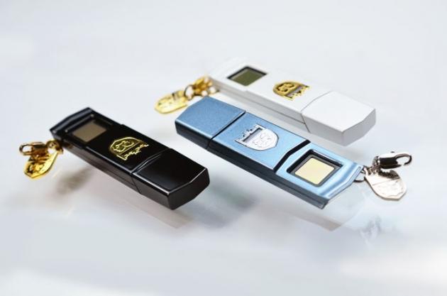 Phecda 指紋辨識碟 USB3.0 2