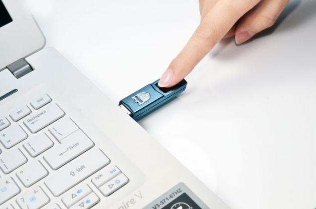 Phecda 指紋辨識碟 USB3.0 5